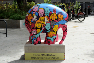 Elmer at the Elephant